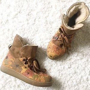 Shoes - Boutique | Floral Hiking Boots